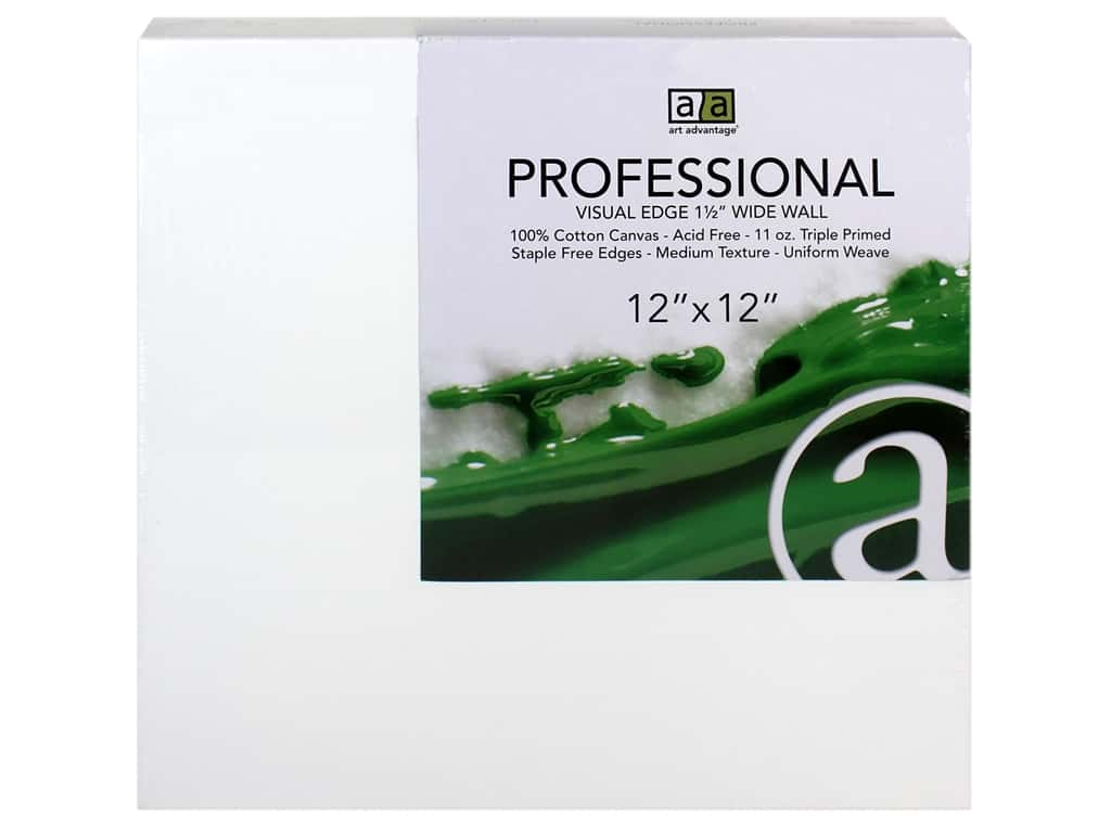 Art Advantage Professional Canvas 12 in. x 12 in. Wide Wall