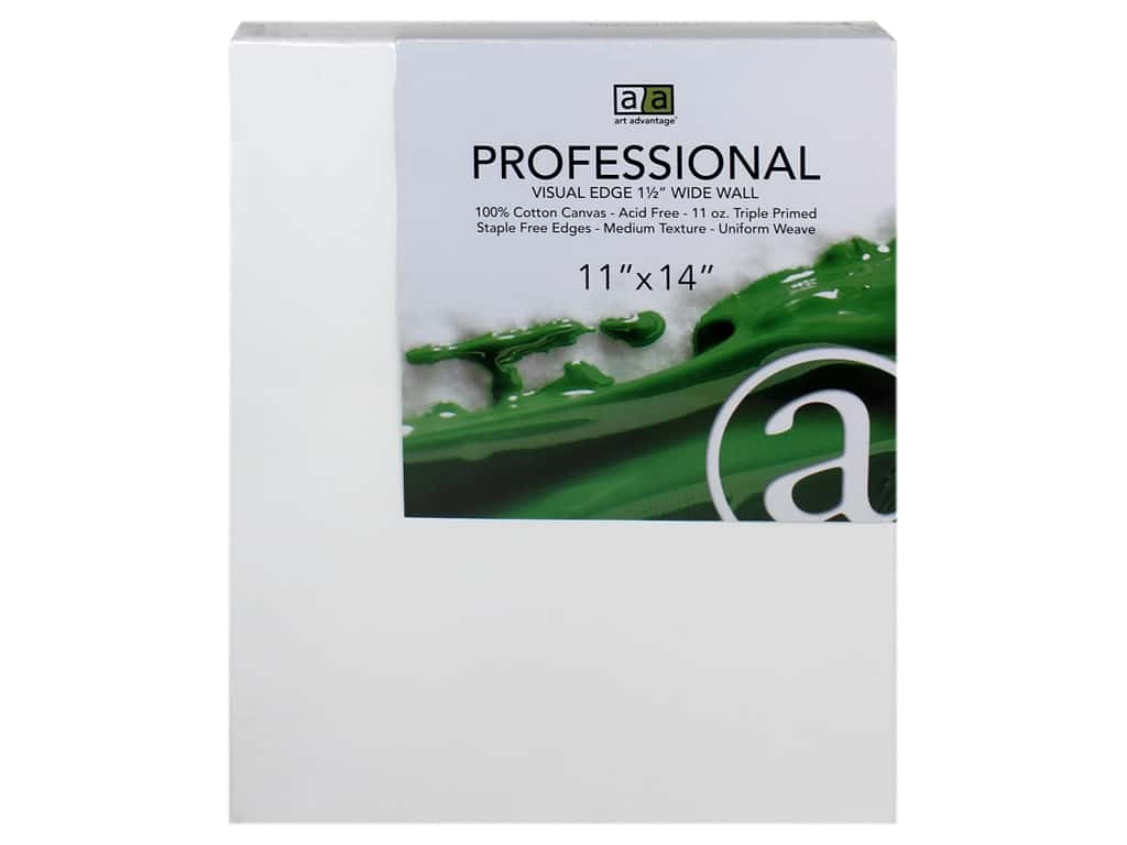 Art Advantage Professional Canvas 11 in. x 14 in. Wide Wall