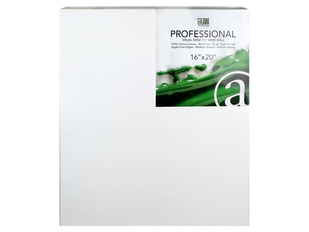 Art Advantage Professional Canvas 16 in. x 20 in. Wide Wall