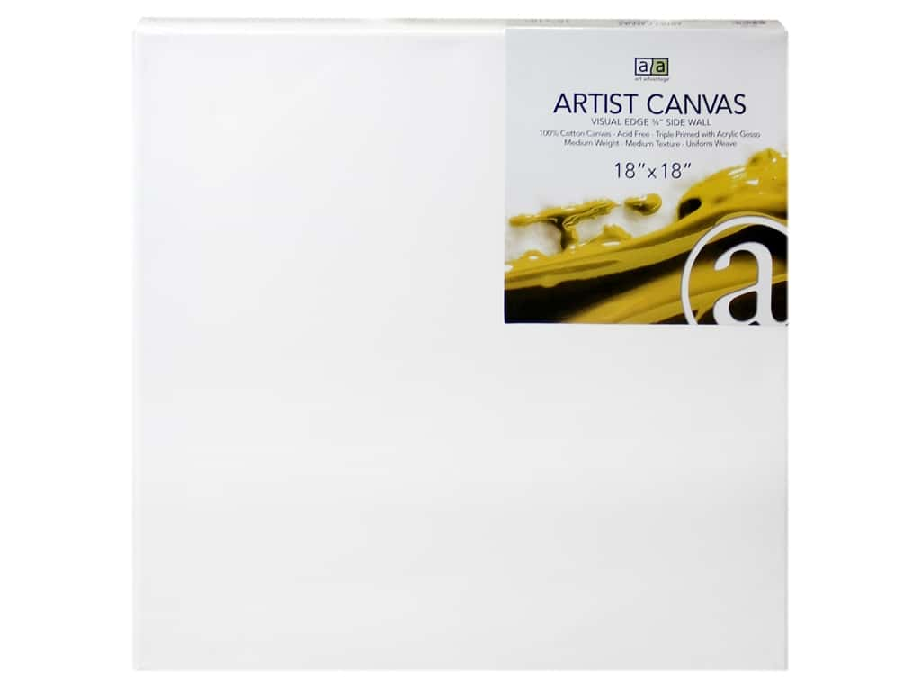 Art Advantage Artist Canvas 18 x 18 in.