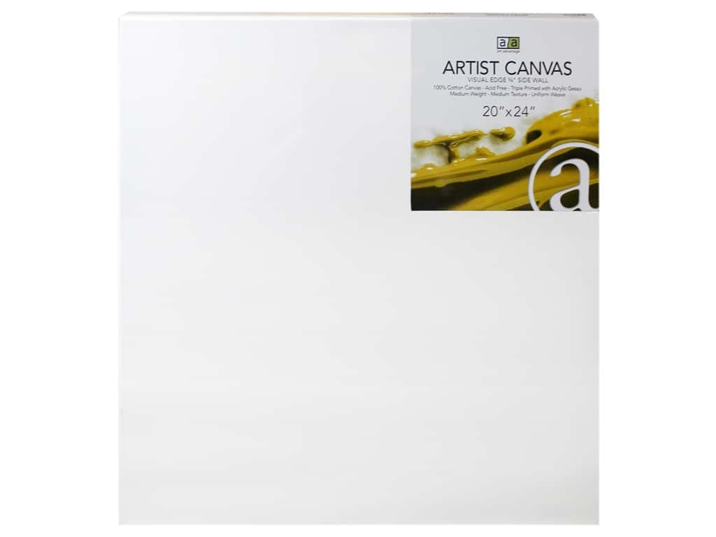 Art Advantage Artist Canvas 20 x 24 in.