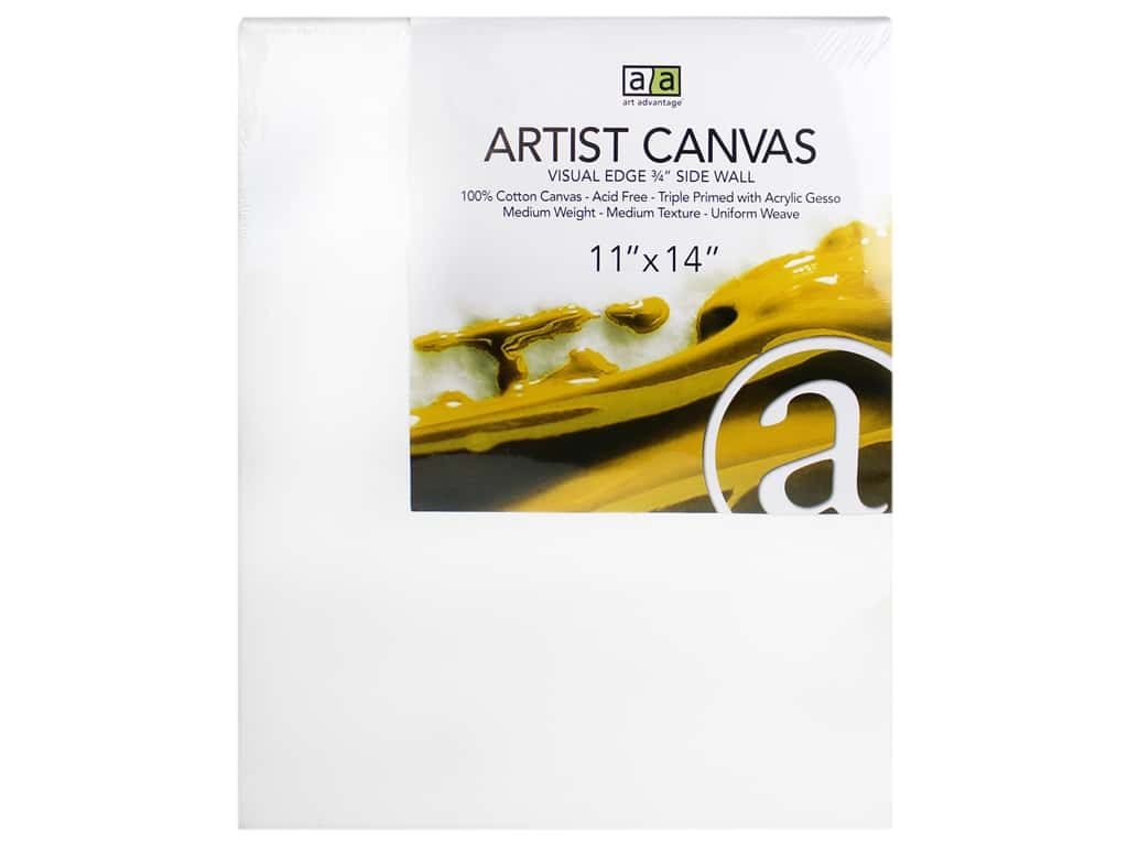 Art Advantage Artist Canvas 11 x 14 in.