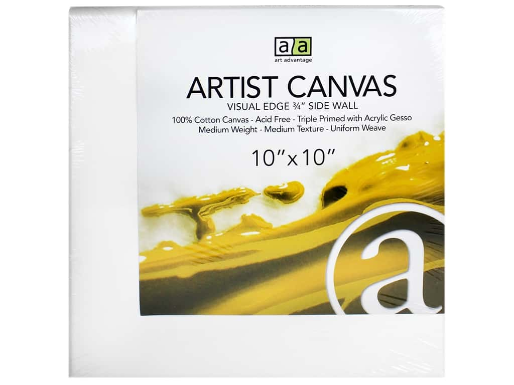 Art Advantage Artist Canvas 10 x 10 in.