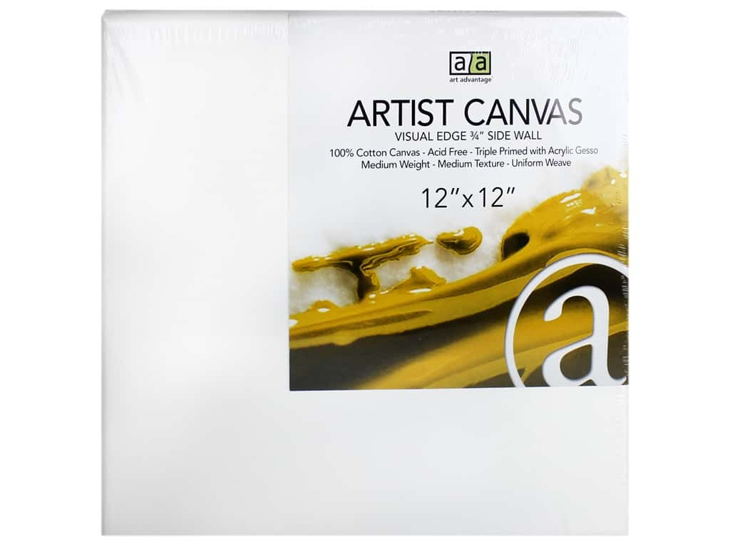 Art Advantage Artist Canvas 12 x 12 in.