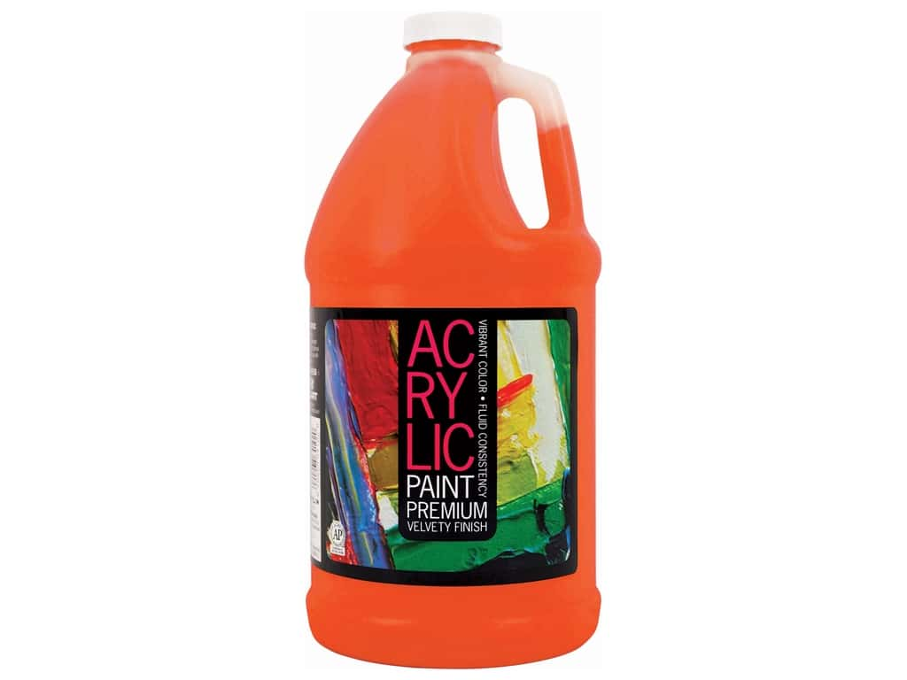 Pro Art Student Acrylic Paint 64 oz. Brilliant Orange