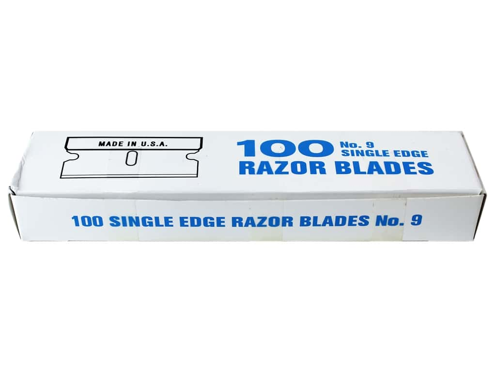 Art Advantage #9 Single Edge Razor Blades 100 pc.