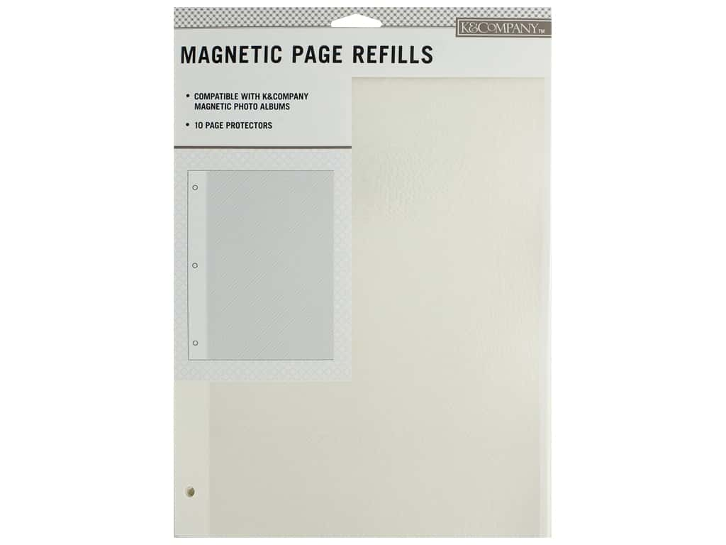 K&Company Magnetic Page Refills 10 pc.