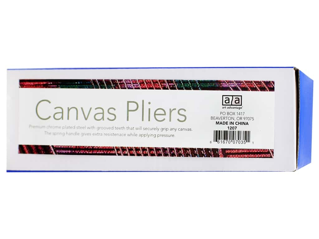Art Advantage Canvas Pliers