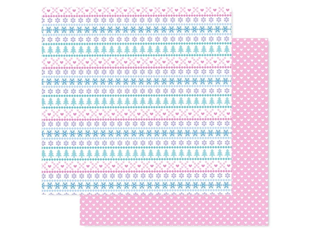 Doodlebug Collection Winter Wonderland Paper 12 in. x 12 in. Sweater Weather (25 pieces)