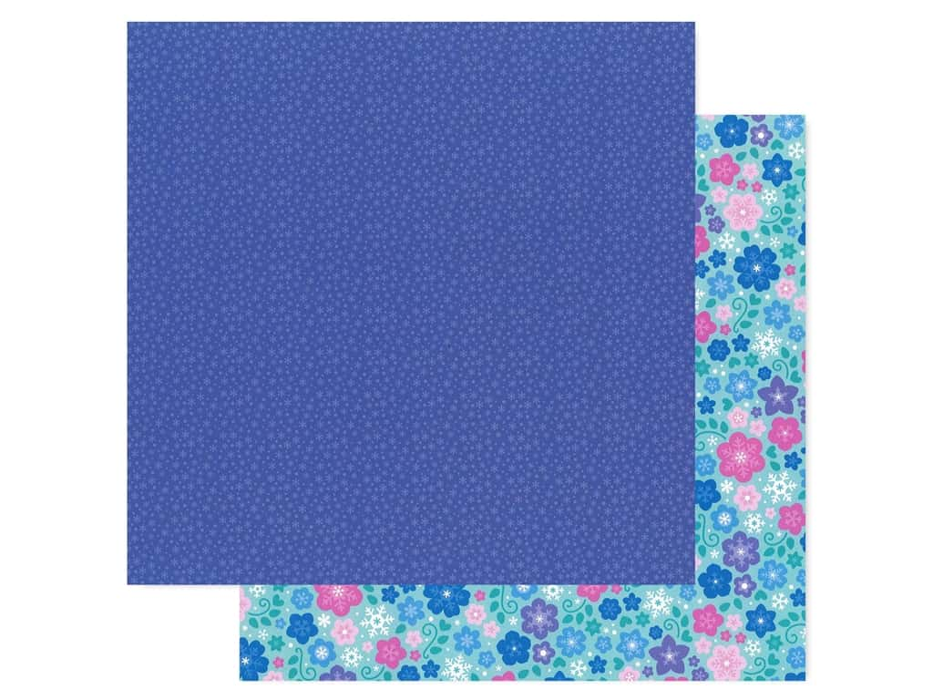 Doodlebug Collection Winter Wonderland Paper 12 in. x 12 in. Nightfall (25 pieces)