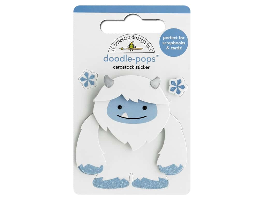 Doodlebug Collection Winter Wonderland Doodle Pops Harry