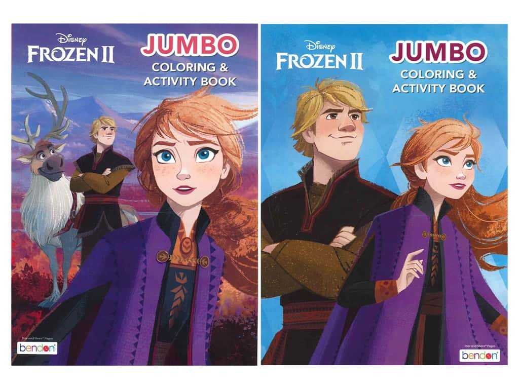 Bendon Jumbo Coloring & Activity Book Assorted Frozen 2