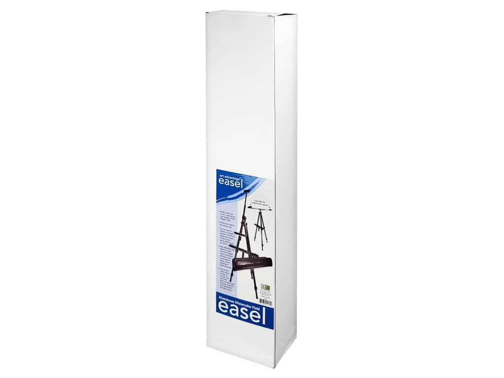 Art Advantage Easel Standing Field With Case Aluminum Watercolor