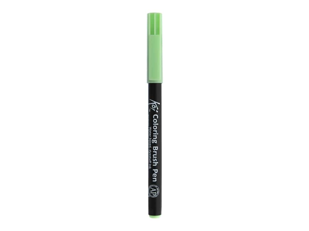 Sakura Koi Coloring Brush Pen Ice Green (6 pieces)
