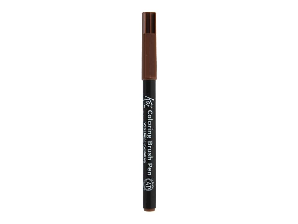 Sakura Koi Coloring Brush Pen Brown (6 pieces)