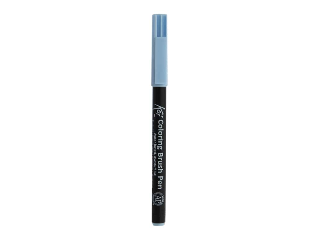 Sakura Koi Coloring Brush Pen Light Sky Blue (6 pieces)