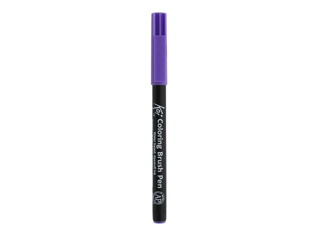 Sakura Koi Coloring Brush Pen Light Purple (6 pieces)