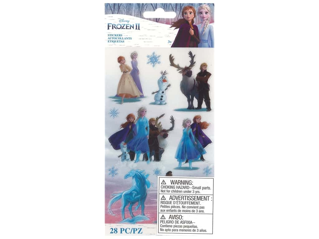 EK Disney Sticker Frozen II Characters
