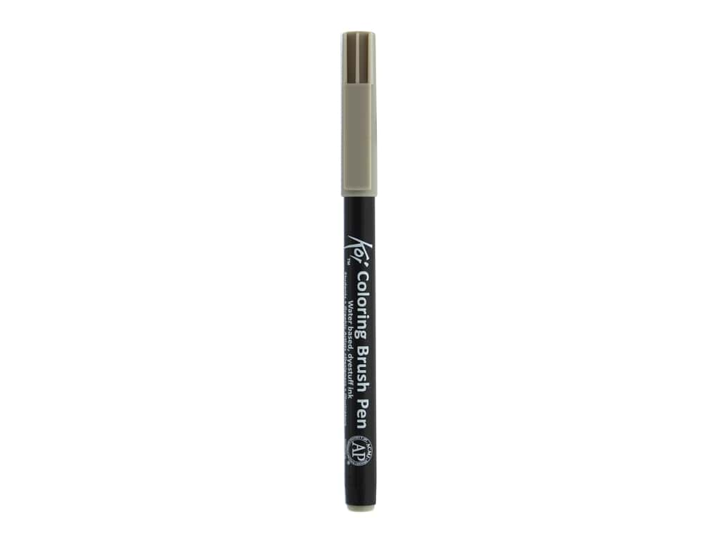 Sakura Koi Coloring Brush Pen Warm Gray (6 pieces)