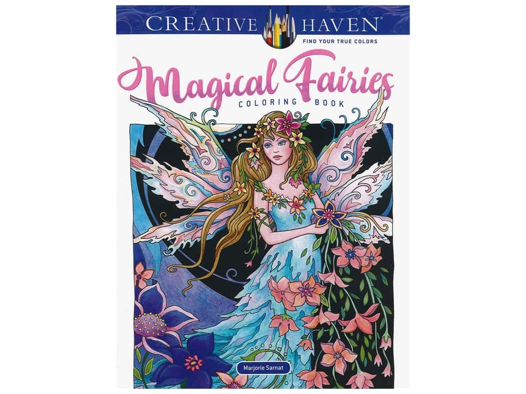 Dover Publications Creative Haven Magical Fairies Coloring Book