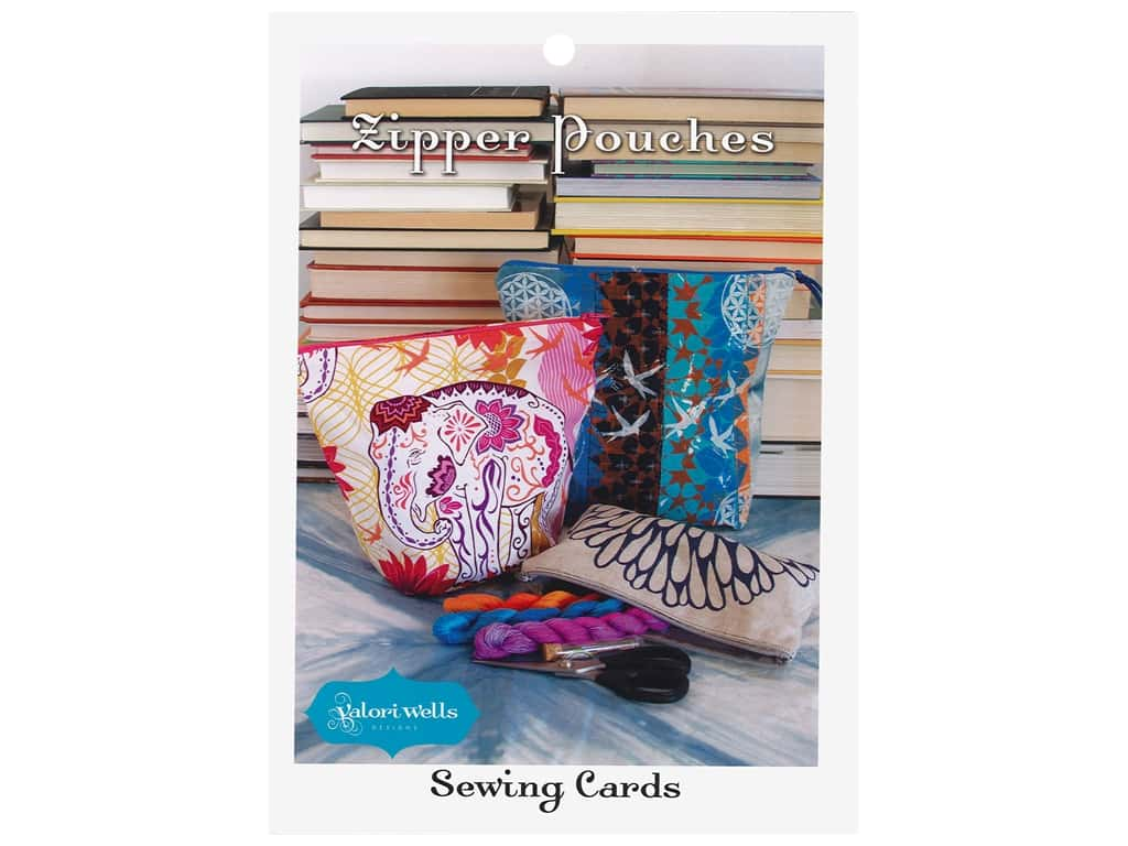 Valori Wells Designs Sewing Cards - Zipper Pouches