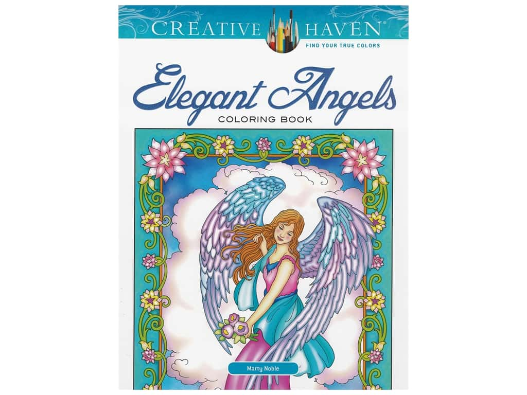 Dover Publications Creative Haven Elegant Angels Coloring Book