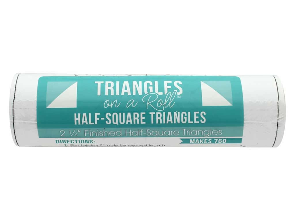 It's Sew Emma Notions Triangles On A Roll Half Square 2.25 in.