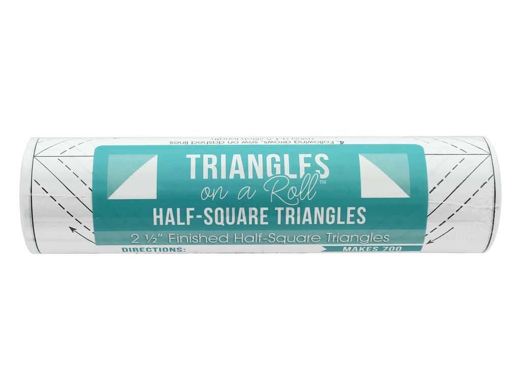 It's Sew Emma Notions Triangles On A Roll Half Square 2.5 in.
