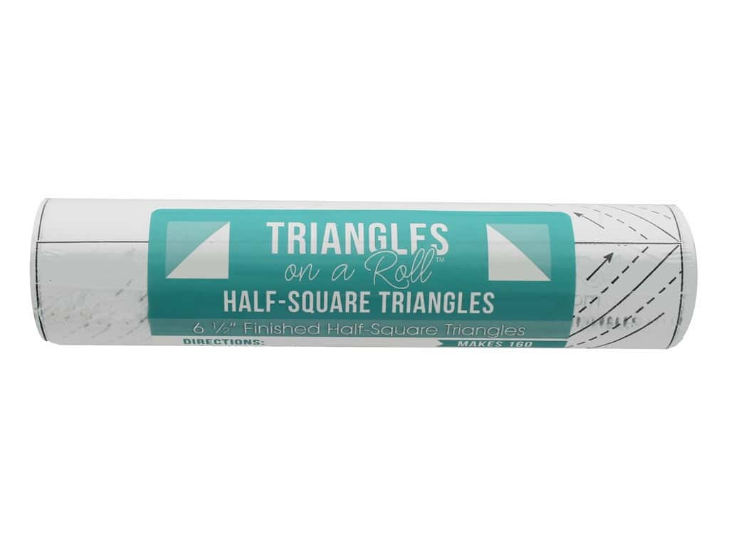 It's Sew Emma Notions Triangles On A Roll Half Square 6.5 in.