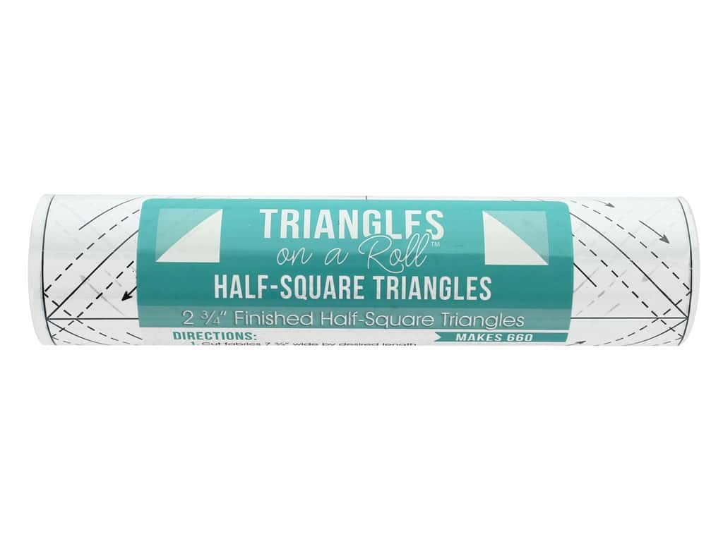 It's Sew Emma Notions Triangles On A Roll Half Square 2.75 in.