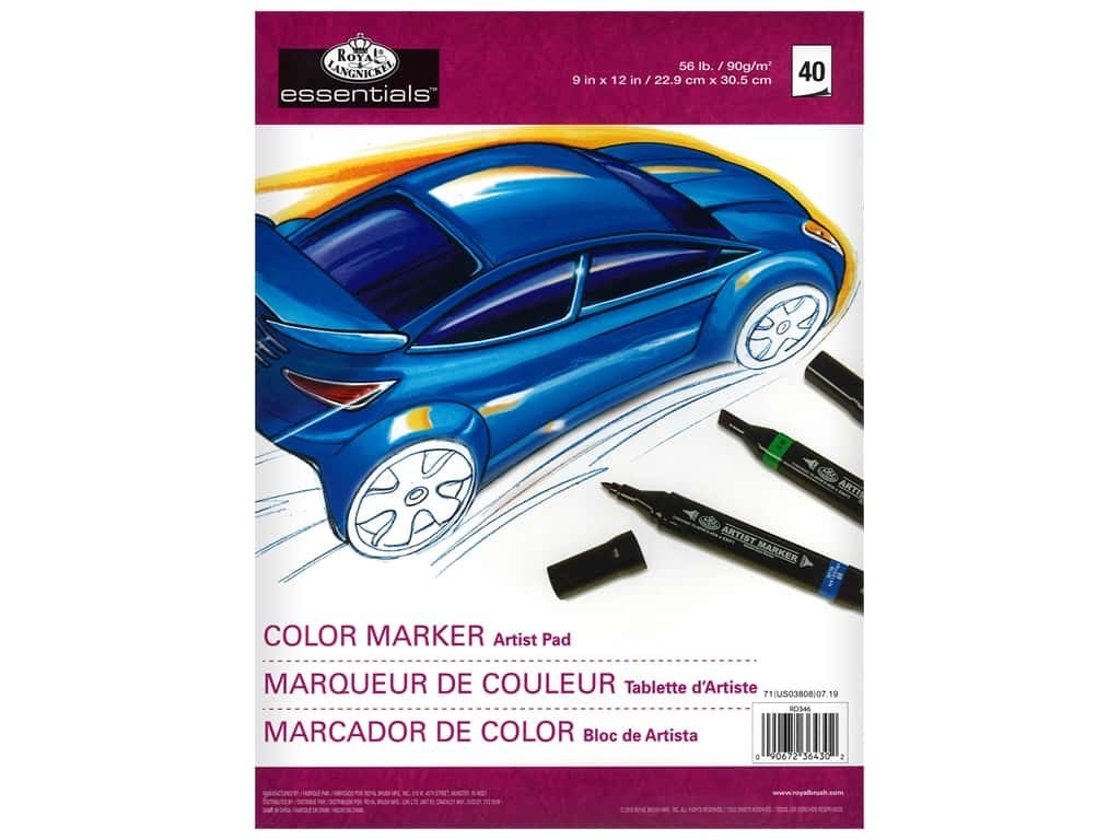 Royal Artist Pad Color Marker 9 in. x 12 in.