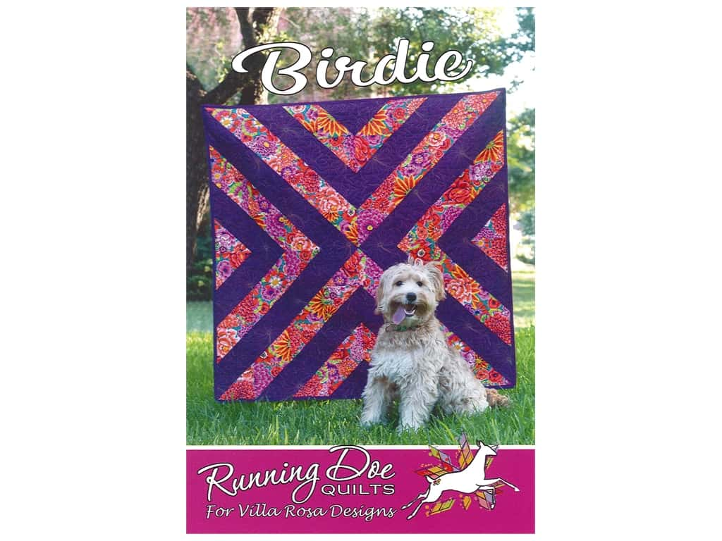 Villa Rosa Designs Running Doe Birdie Pattern