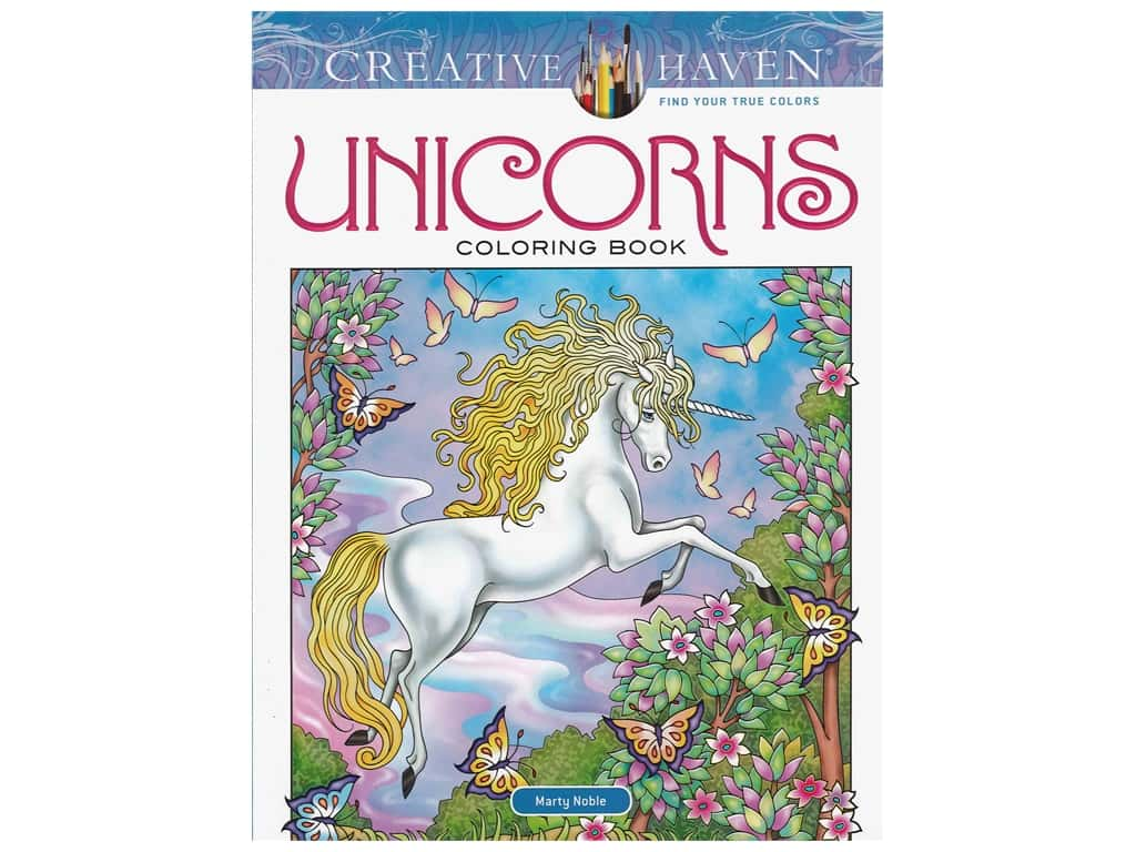 Dover Publications Creative Haven Unicorns Coloring Book