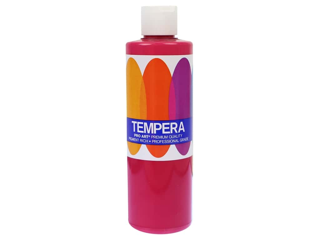 Pro Art Liquid Tempera Paint 8 oz. Magenta