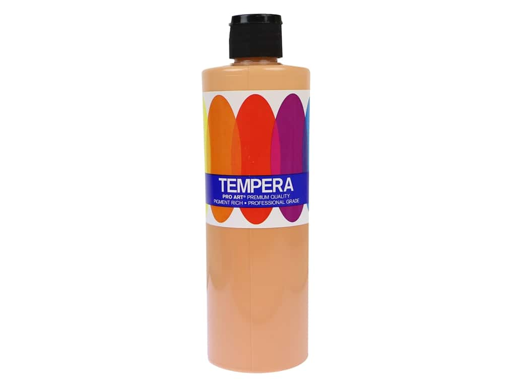 Pro Art Liquid Tempera Paint 16 oz. Peach