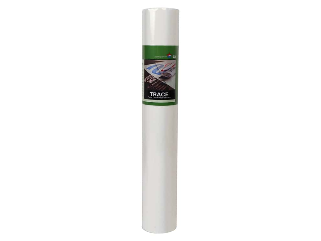 Pro Art Tracing Paper Sketch 18 in. x 8 yd Roll Translucent White