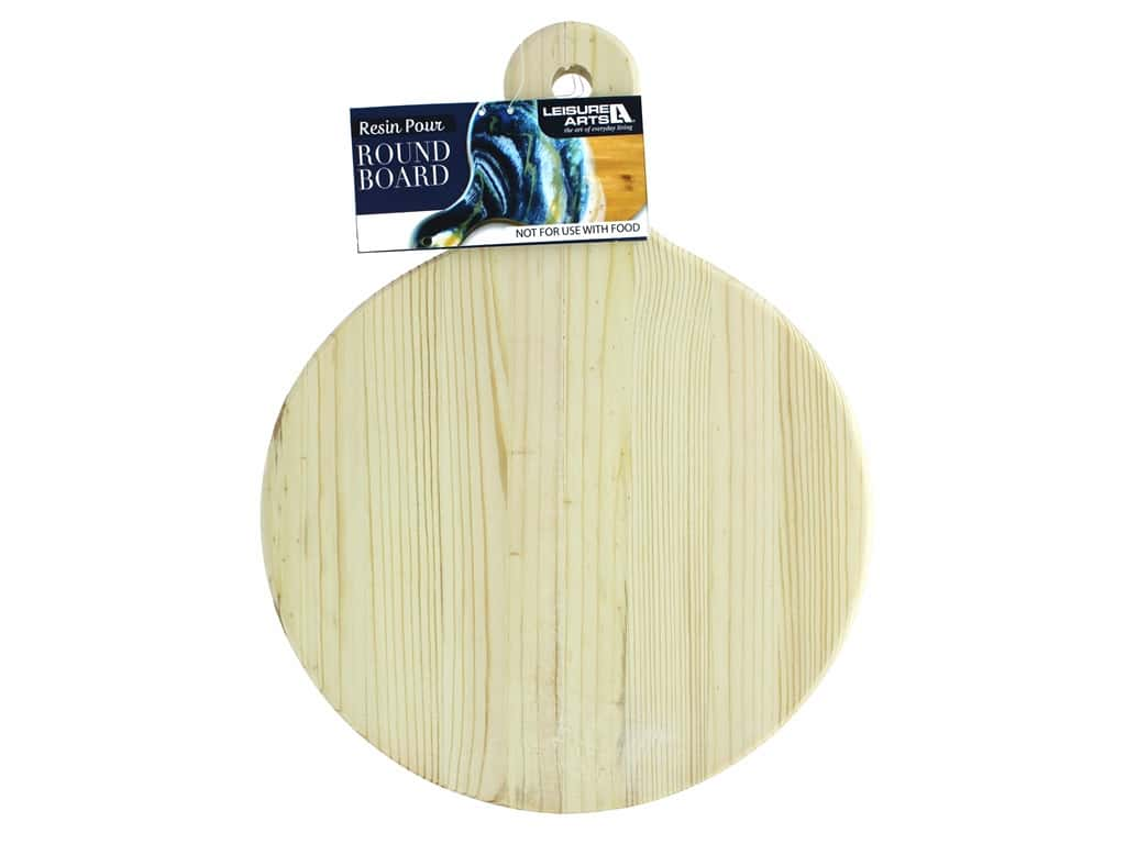 Leisure Arts Resin Pour Cheese Board Circle