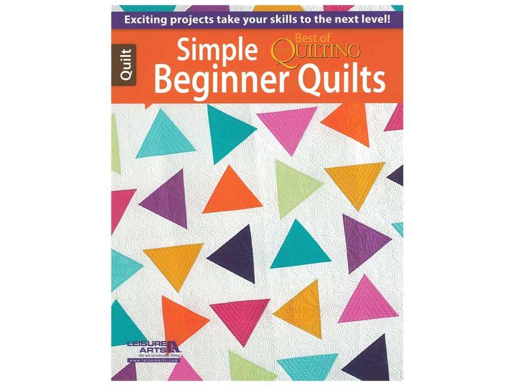 Leisure Arts Simple Beginner Quilts Book