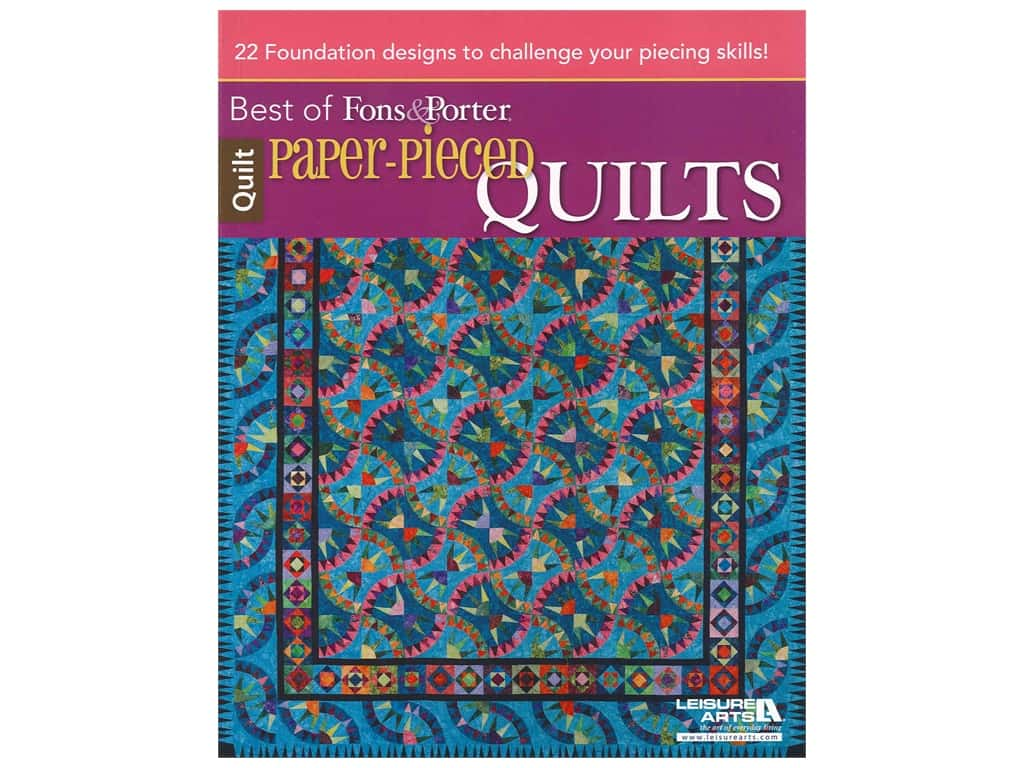 Leisure Arts Paper-Pieced Quilts Book