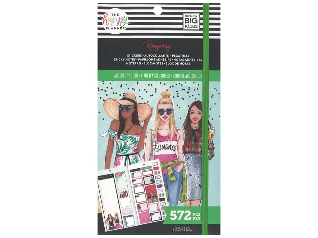 Me&My Big Ideas Happy Planner RongRong Sticker Book Seasonal Functional