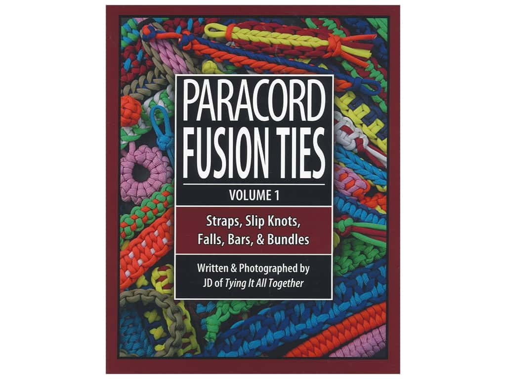 4th Level Indie Paracord Fusion Ties Volume 1 Book
