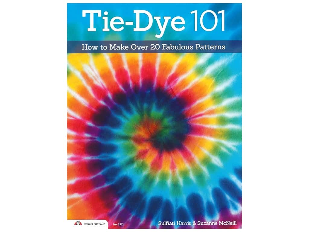 Design Originals Tie Dye 101 Book