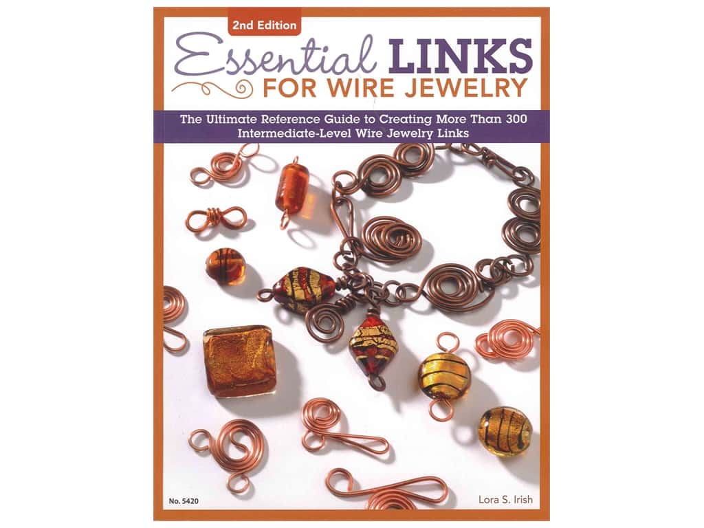 Design Originals Essential Links For Wire Jewelry Volume 2 Book