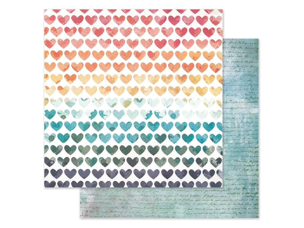 American Crafts Collection Vicki Boutin Wildflower & Honey Paper 12 in. x 12 in. Field Of Dreams (25 pieces)