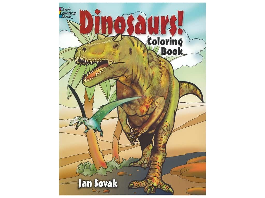 Dover Publications Dinosaurs! Coloring Book