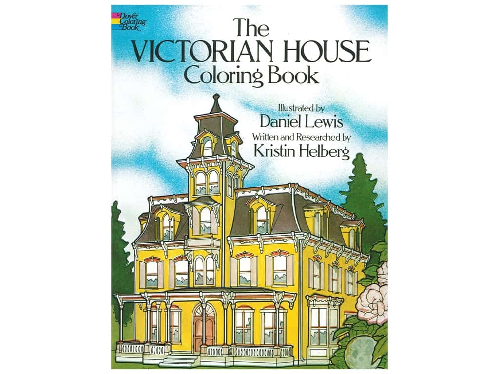 Dover Publications Victorian House Coloring Book