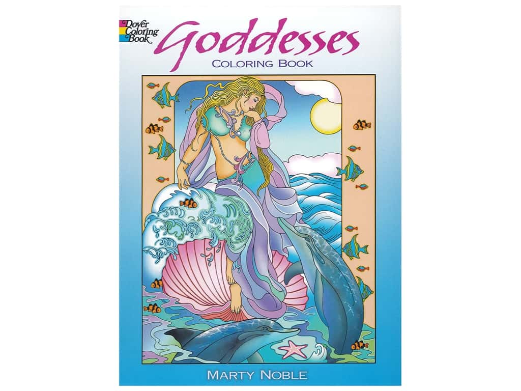 Dover Publications Goddesses Coloring Book