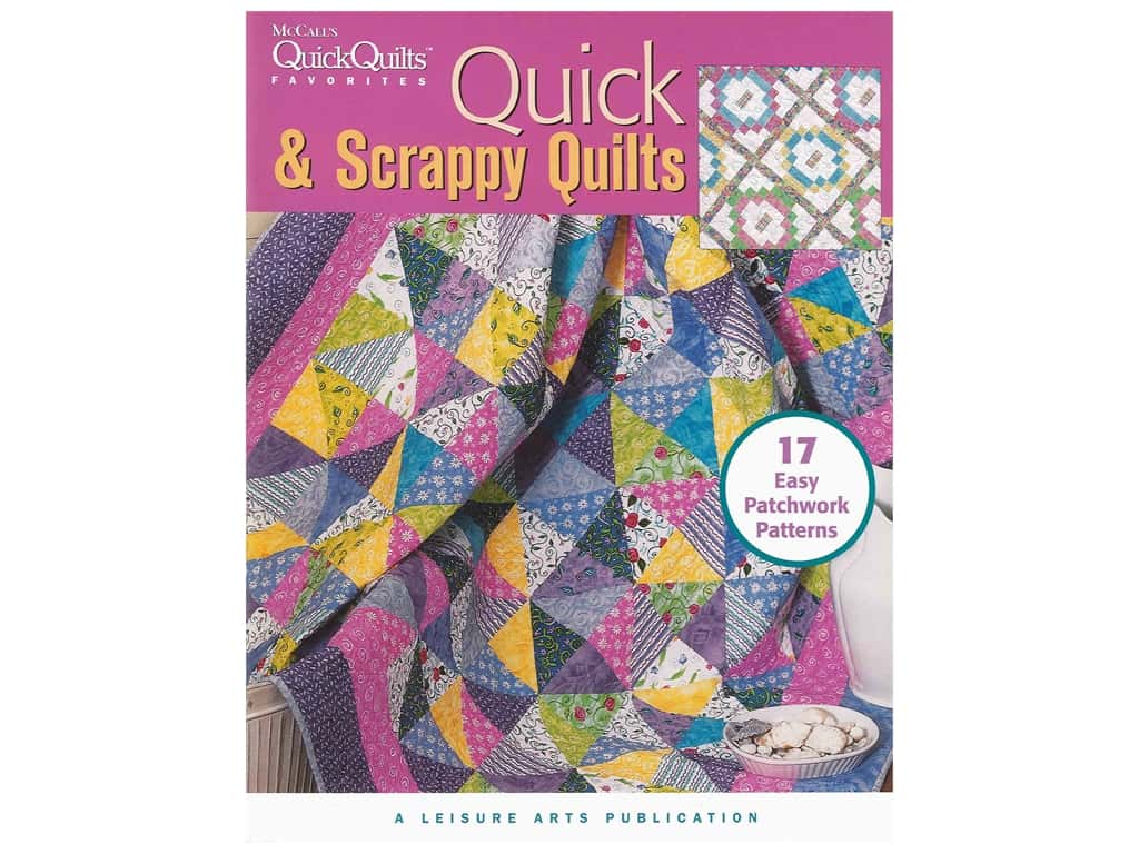 Leisure Arts McCall's Quick & Scrappy Quilts Book