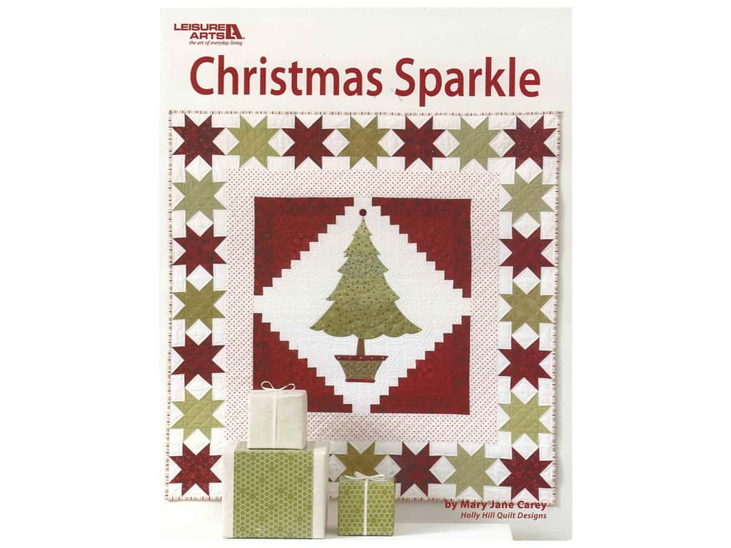 Leisure Arts Christmas Sparkle Book by Mary Jane Carey