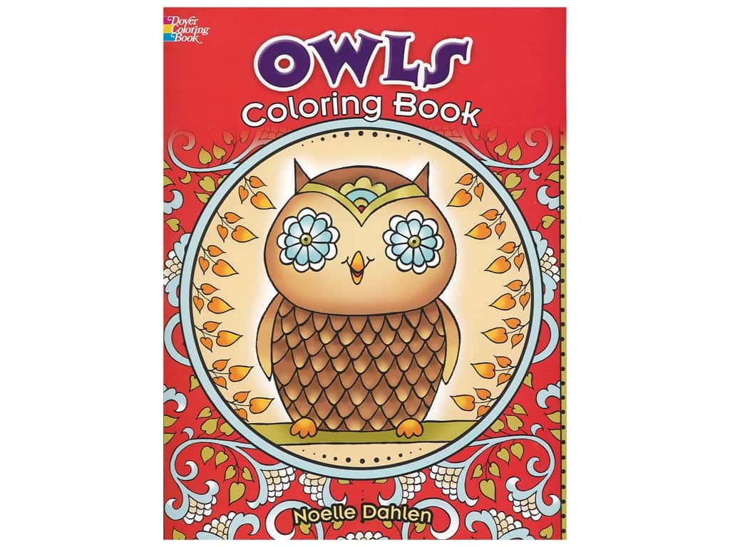 Dover Publications Owls Coloring Book